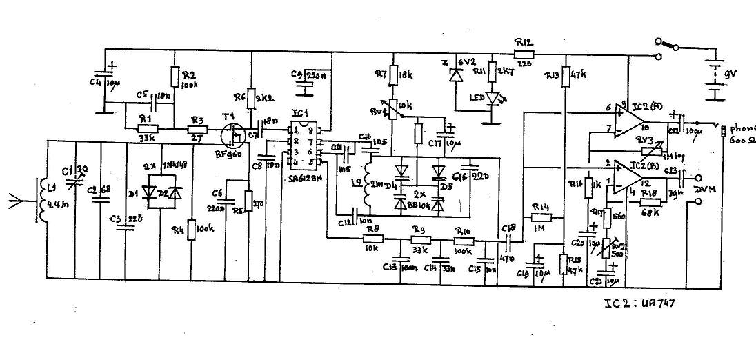Circuit Diagram For Projects | Test Equipment Circuit Diagrams And Electronic Projects
